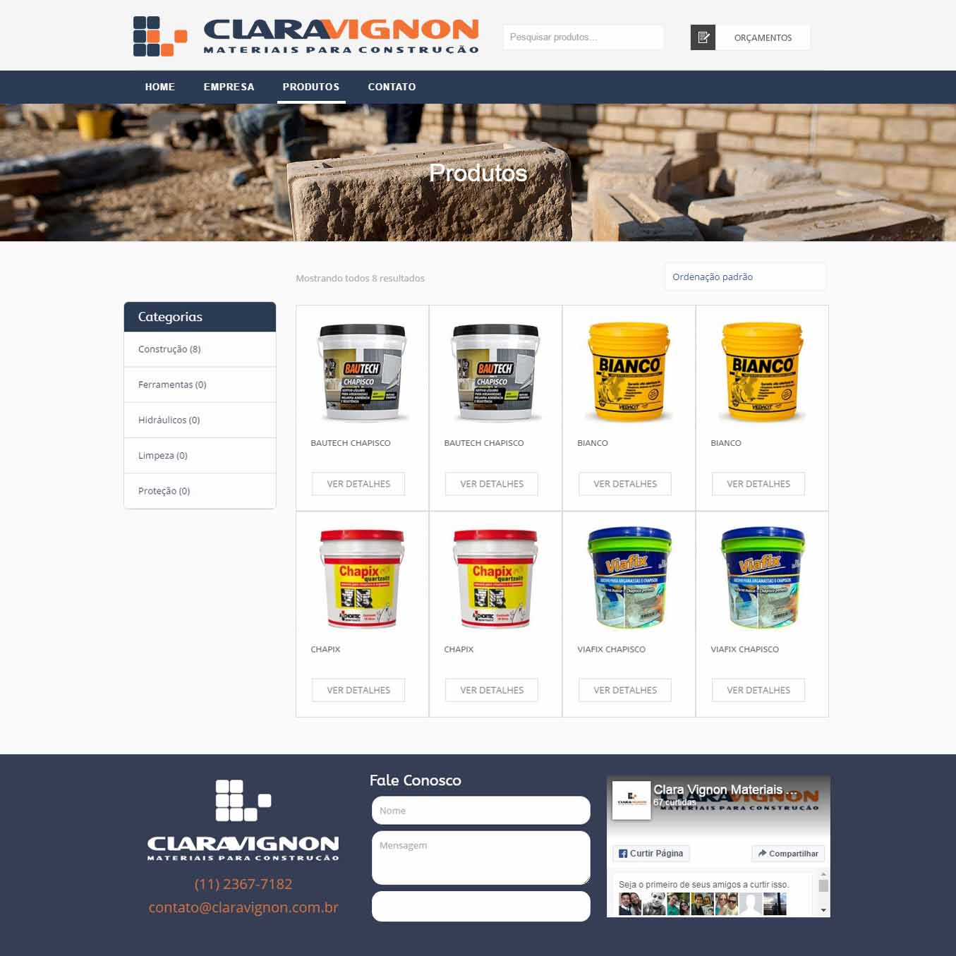 Clara Vignon produtos